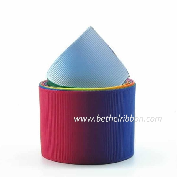 China Custom Wholesale Grosgrain Ribbon