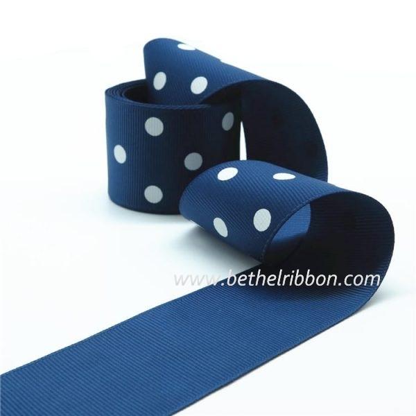 custome printed grosgrain ribbon wholesale