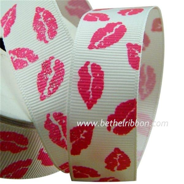 diy printed ribbon