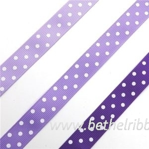 wholesale 2 inch purple grosgrain ribbon from China