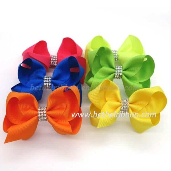large grosgrain hair bows wholesale
