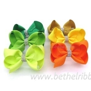 large grosgrain hair bows wholesale