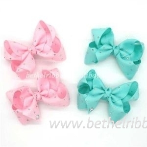 Chinese 4 inch hair bows wholesale