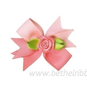 diy ribbon hair bow
