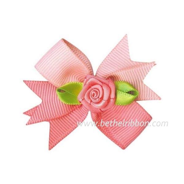 diy ribbon hair bow