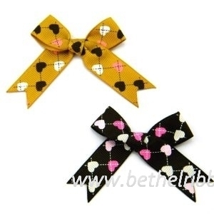 custome grosgrain ribbon bows