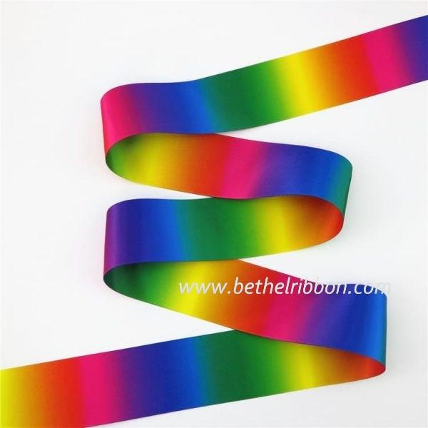 wholesale customized printed satin ribbon