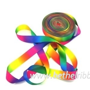 wholesale customized printed satin ribbon