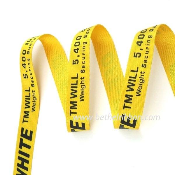 gold grosgrain ribbon