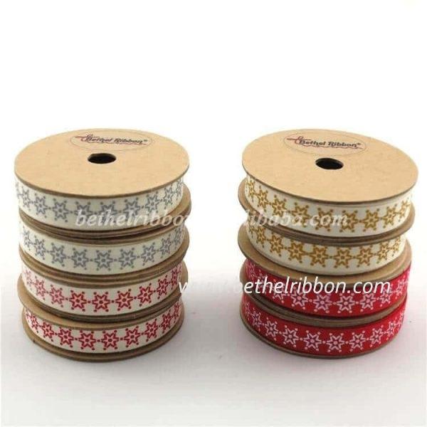 printed cotton ribbon wholesale