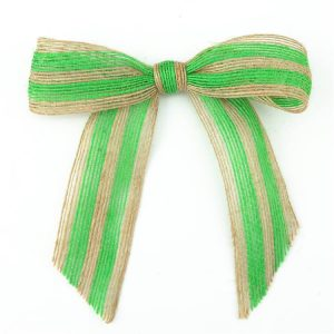 high quality gift package colored jute ribbon