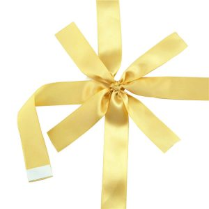 high quality satin ribbon for chocolate package