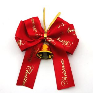 reb fabric ribbon bow for festival decorate