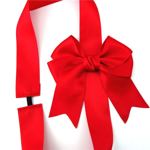 wholesale fancy red ribbon bow for gift package
