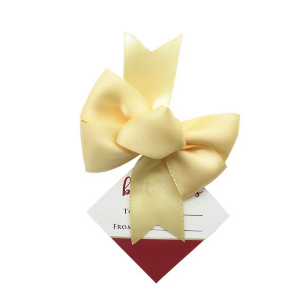 high quality red wine ribbon bow