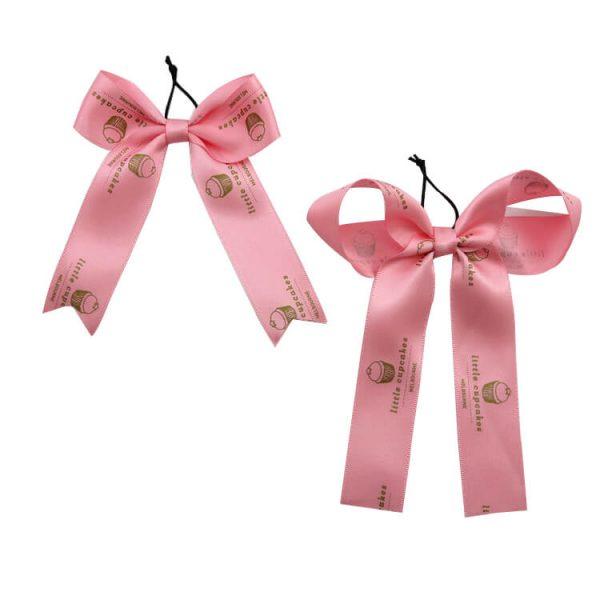 pink wine ribbon bow wholesale
