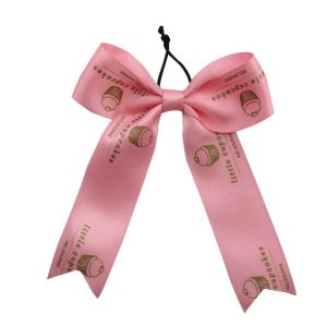 pink wine ribbon bow wholesale