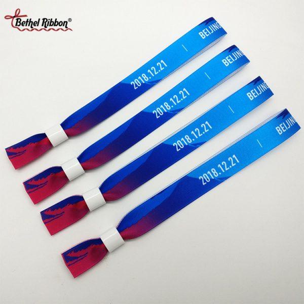beautiful colored diy ribbon wristbands