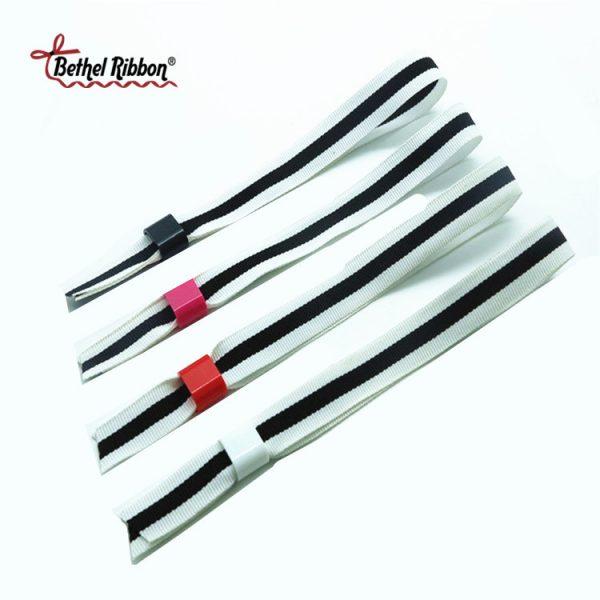 wholesale printed festival ribbon wristbands