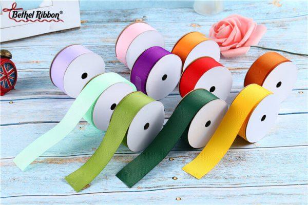 best colored grosgrain ribbon wholesale