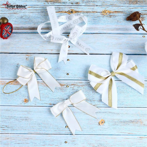 satin ribbon bow supplier from China