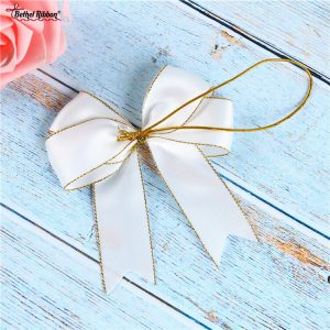 satin ribbon bow supplier from China