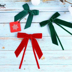 hot sale best velvet ribbon bow