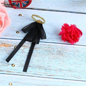 high qualify wine bottle bow with elastic band